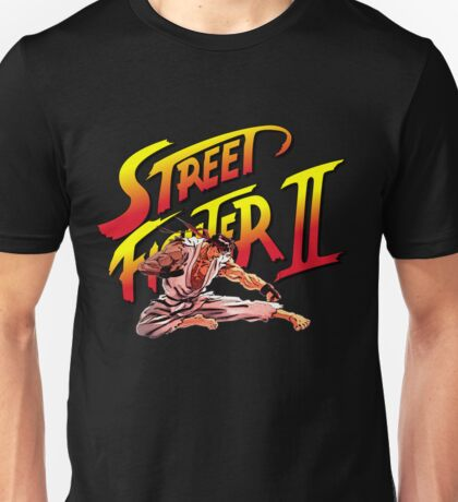 Ryu Flying Kick Unisex T-Shirt