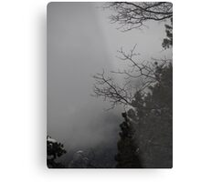 Idylwild Winter Scene Metal Print