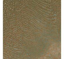 Sand Dunes in Rub al Khali Desert Saudi Arabia Satellite Image Photographic Print
