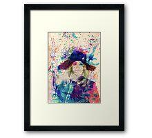 Captain Ray Ray Framed Print