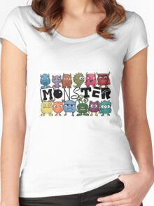 Little Monsters Women's Fitted Scoop T-Shirt