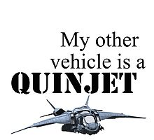 My Other Vehicle is a Quinjet by Khel13