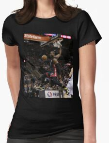 hd sports artwork Womens Fitted T-Shirt