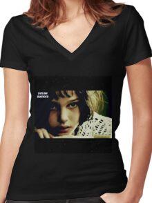 Someday Women's Fitted V-Neck T-Shirt