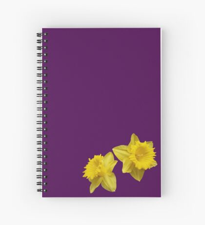 Simply Daffodils Spiral Notebook