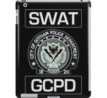 Gotham City SWAT iPad Case/Skin