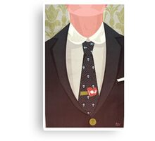 Sharply Dressed: Moriarty Canvas Print