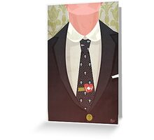 Sharply Dressed: Moriarty Greeting Card