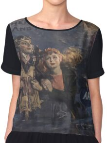 Vintage poster - Air Forces Chiffon Top