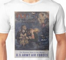 Vintage poster - Air Forces Unisex T-Shirt