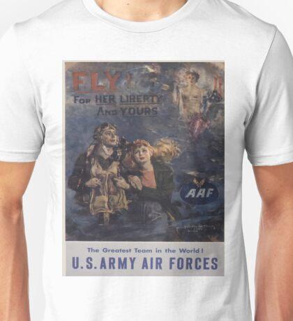 Vintage poster - Air Forces Unisex T-Shirt