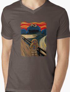 The Cookie Muncher Mens V-Neck T-Shirt