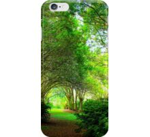 Plantation Path iPhone Case/Skin