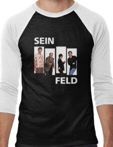 SIENFELD Men's Baseball ¾ T-Shirt