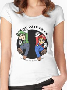 SUPER MARIO 221B Women's Fitted Scoop T-Shirt