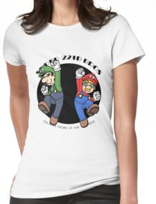 SUPER MARIO 221B Womens Fitted T-Shirt