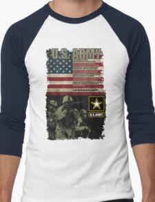 U.S. Army Creed Men's Baseball ¾ T-Shirt