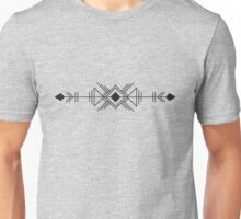 Arrow With Geometric Shapes Unisex T-Shirt