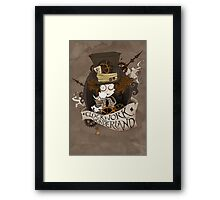 The Mad Hatter - Clockwork Wonderland Framed Print