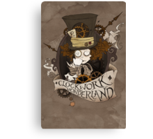The Mad Hatter - Clockwork Wonderland Canvas Print