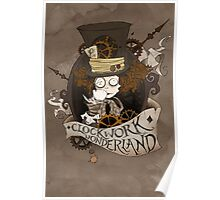 The Mad Hatter - Clockwork Wonderland Poster