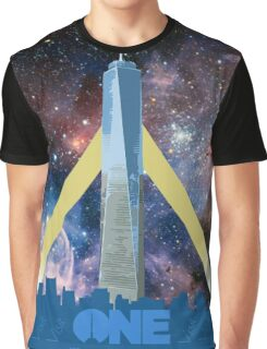 One World Trade Center, Space Graphic T-Shirt