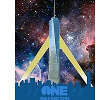 One World Trade Center, Space Photographic Print