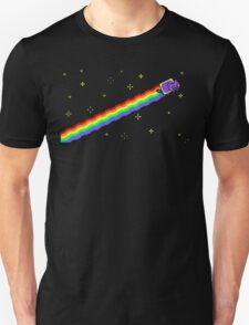 Flying Nyan's Pixel Cat Unisex T-Shirt