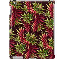 Fasciata Tropical Floral - Green Pink iPad Case/Skin