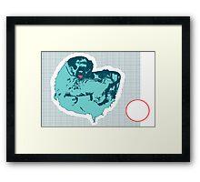 Sassy Sloth Framed Print