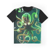 Kraken 'Seaweed' Green Graphic T-Shirt
