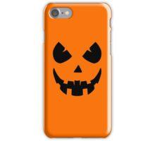 Scary Jack'O'Lantern Face iPhone Case/Skin