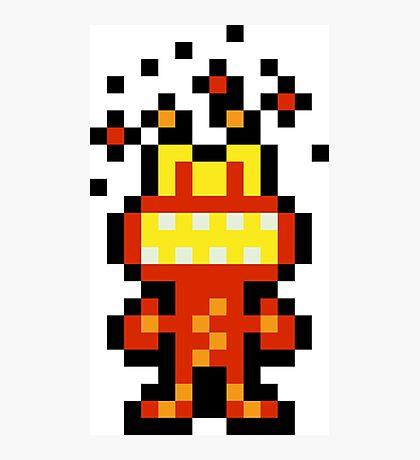Pixel 'Splosion Man Photographic Print