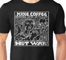 Make Coffee Not War! ( International Coffee Day ) Unisex T-Shirt