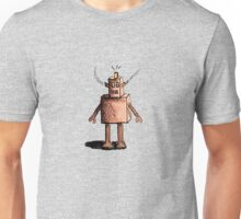 Rusty Tired Robot Unisex T-Shirt