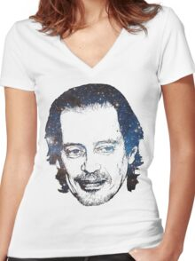 Space Boy Buscemi Women's Fitted V-Neck T-Shirt