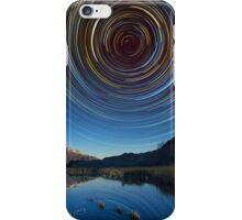 Queenstown star trails reflection iPhone Case/Skin