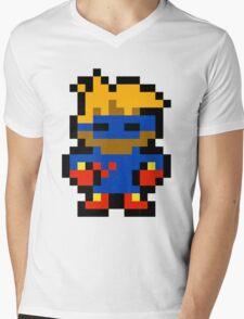 Pixel Captain Novolin Mens V-Neck T-Shirt
