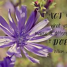 YOU Make a Difference by Kathleen Daley
