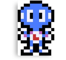 Pixel Davy Canvas Print