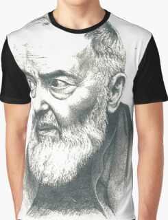 Padre Pio Graphic T-Shirt