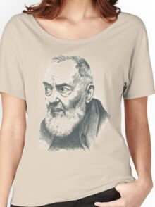 Padre Pio Women's Relaxed Fit T-Shirt