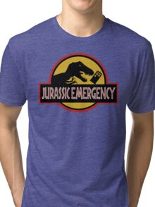 Jurassic Emergency Tri-blend T-Shirt
