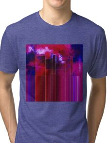 A Stormy Night in the City Tri-blend T-Shirt