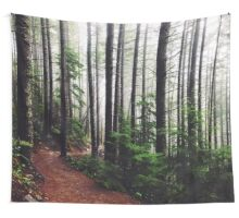 Sound of the Trees Wall Tapestry
