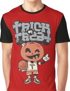 Trick Or Treat Pumpkin Graphic T-Shirt