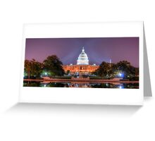 Washington's Dream Capitol Greeting Card