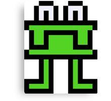 Pixel Muncher Canvas Print