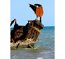 Wreck of the Carpentaria Light Ship Photographic Print