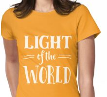 Light of the World Womens Fitted T-Shirt